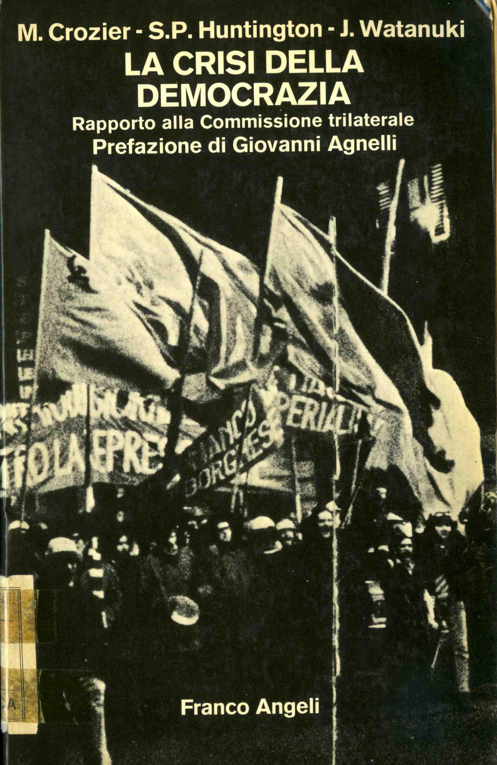 """Risultati immagini per La crisi della democrazia"""" (1975)"""