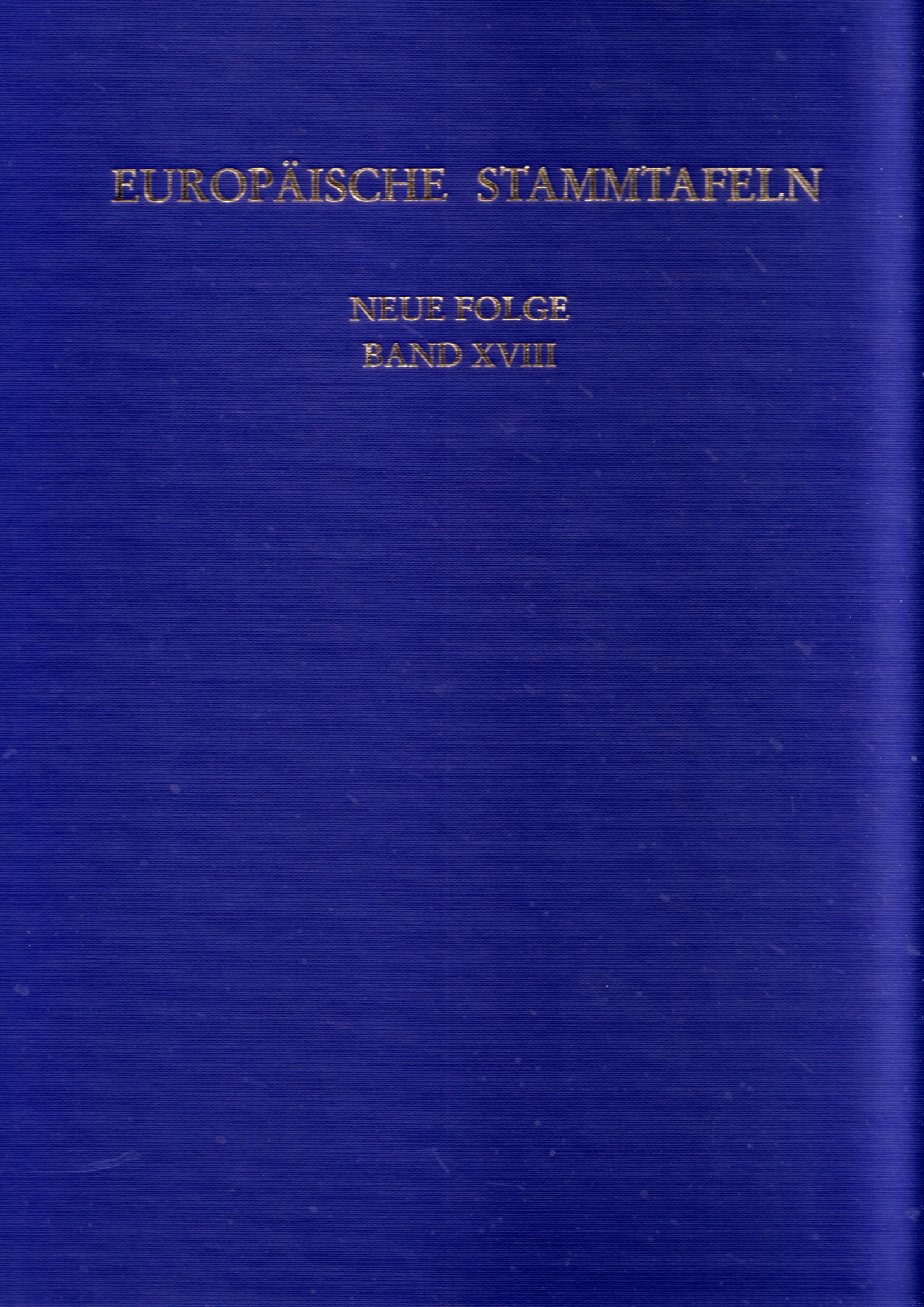 Europäische Stammtafeln
