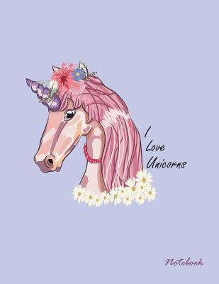 I love unicorns notebook