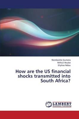 How are the US financial shocks transmitted into South Africa?