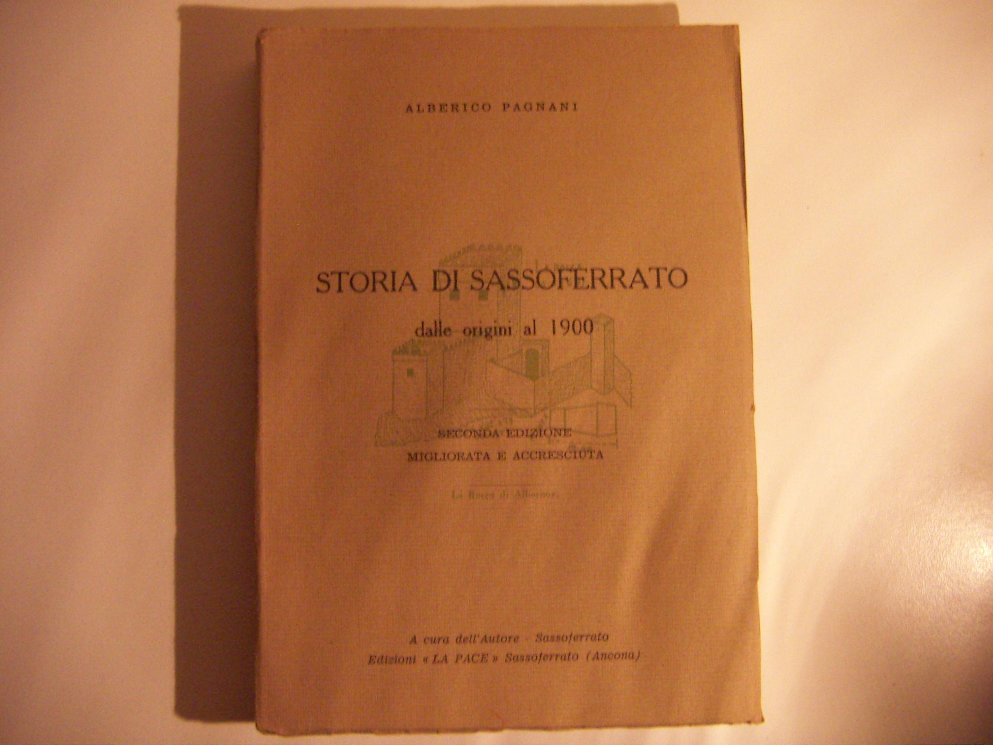 Storia di Sassoferrato dalle origini al 1900