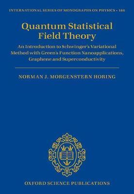Quantum Statistical Field Theory