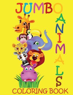 Jumbo Animal Coloring Book