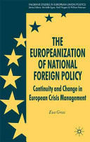 The Europeanization of national foreign policy