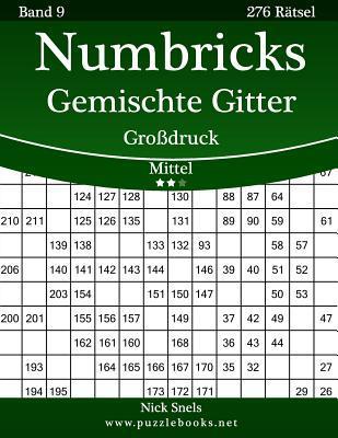 Numbricks Gemischte Gitter - Mittel - 276 Ratsel