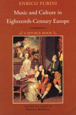 Music & Culture in Eighteenth-Century Europe