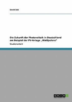 """Die Zukunft der Photovoltaik in Deutschland am Beispiel der PV-Anlage """"Waldpolenz"""""""