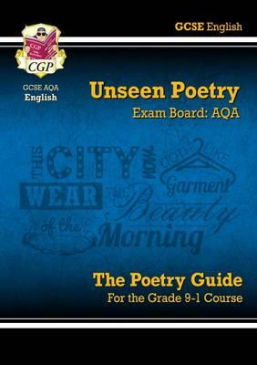 New Grade 9-1 GCSE English Literature AQA Unseen Poetry Guide - Book 1
