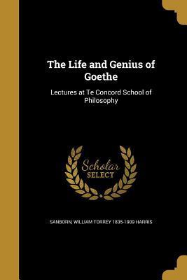 LIFE & GENIUS OF GOETHE