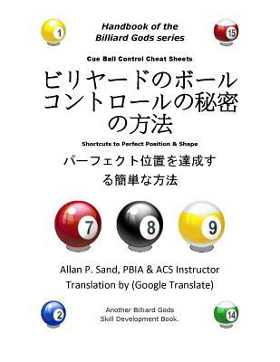 Cue Ball Control Cheat Sheets (Japanese)