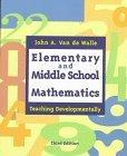 Elementary and Middle School Mathmatics