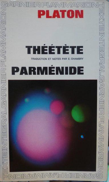 Théétète Parméni...