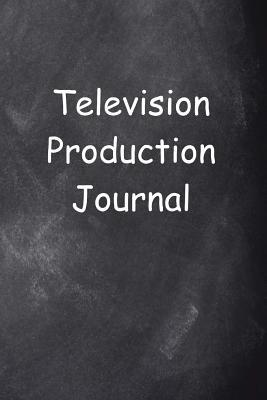 Television Production Journal Chalkboard Design