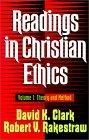 Readings in Christian Ethics, vol. 1