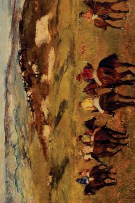 Racehorses by Edgar Degas 1884 Lined Journal