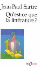 Qu'est-ce que la littérature?