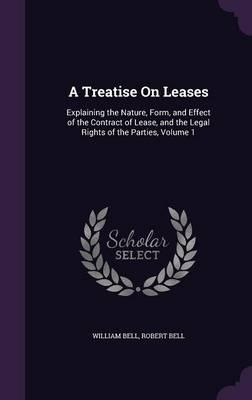A Treatise on Leases