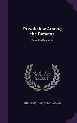 Private Law Among th...