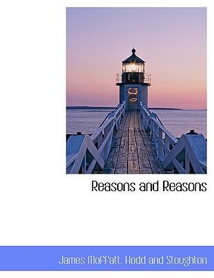 Reasons and Reasons