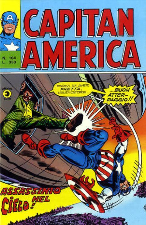 Capitan America n. 104