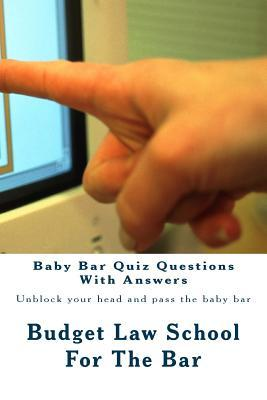 Baby Bar Quiz Questions With Answers