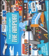 The airport. Travel, learn and explore. Puzzle. Con libro