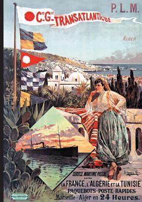 Carnet affiche paquebot poste Algerie-Tunisie