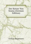 Der Ketzer Von Soana(German Edition)