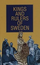 Kings and rulers of Sweden