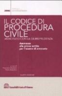 Il codice di procedura civile annotato con la giurisprudenza