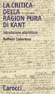 La «Critica della ragion pura» di Kant