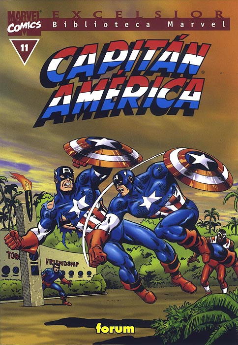 Biblioteca Marvel: Capitán América #11 (de 20)