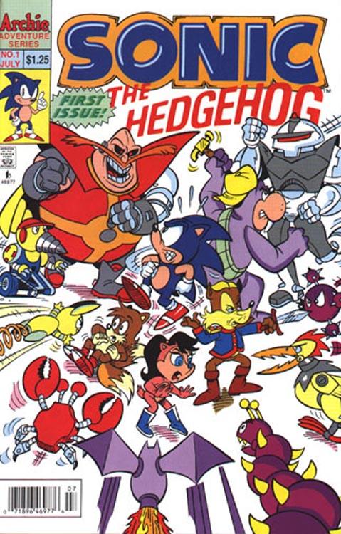 Sonic the Hedgehog, Vol. 1
