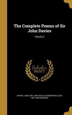 COMP POEMS OF SIR JOHN DAVIES