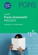 PONS Im Griff - Praxis-Grammatik Englisch