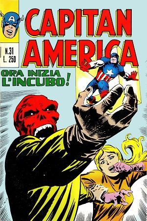 Capitan America n. 31