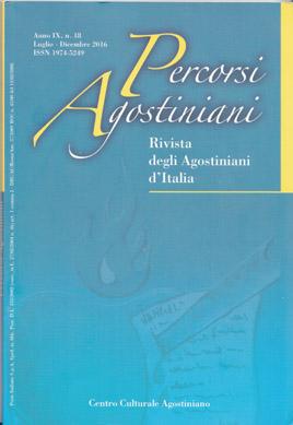 Percorsi Agostiniani - Anno IX, n. 18