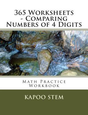 365 Worksheets Comparing Numbers of 4 Digits