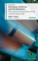 Dictionary of Drives and Mechatronics / Wörterbuch Antriebstechnik und Mechatronik