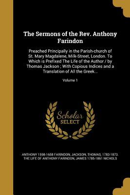 SERMONS OF THE REV ANTHONY FAR
