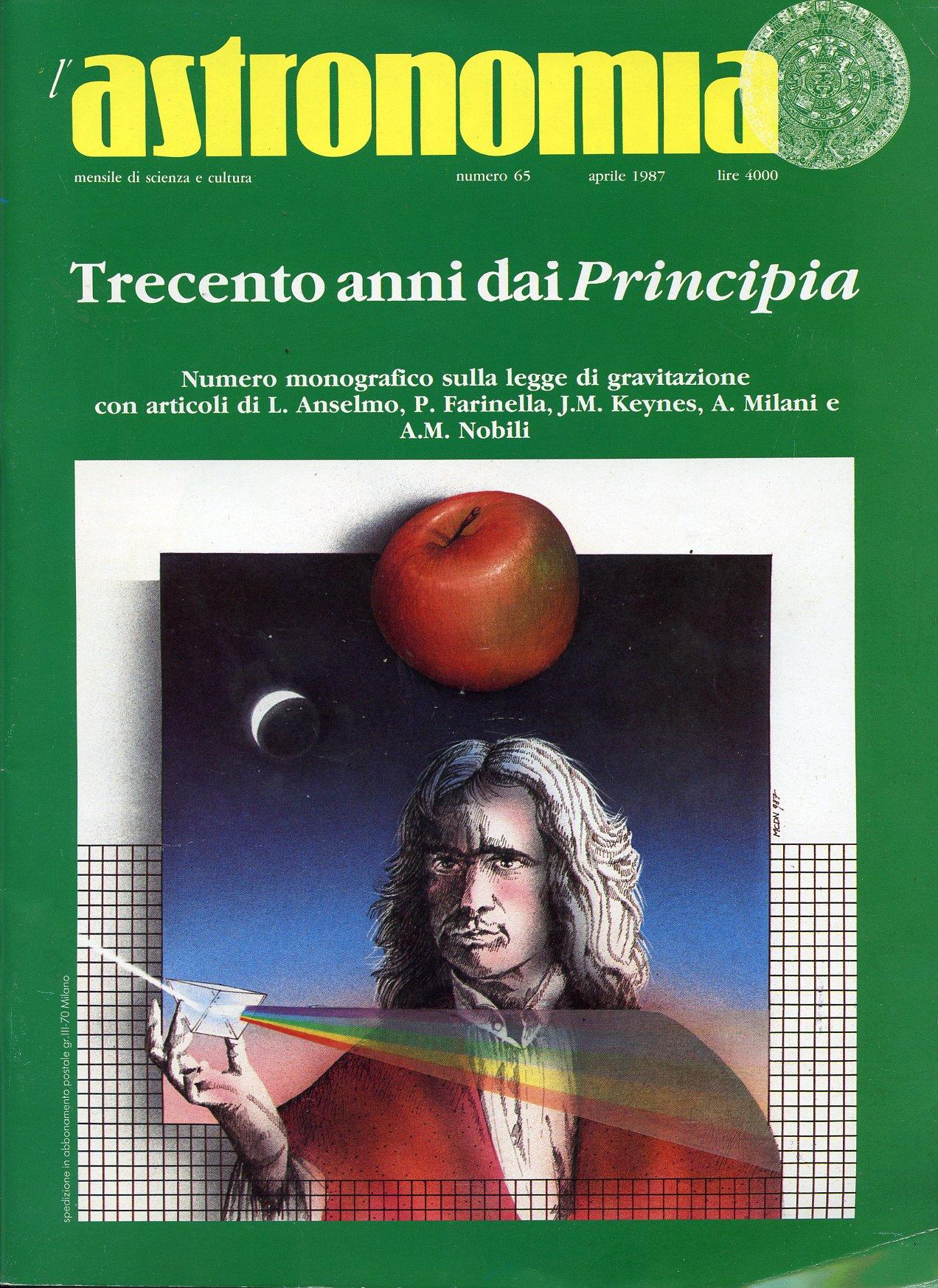 L'Astronomia, Anno IX, n.65