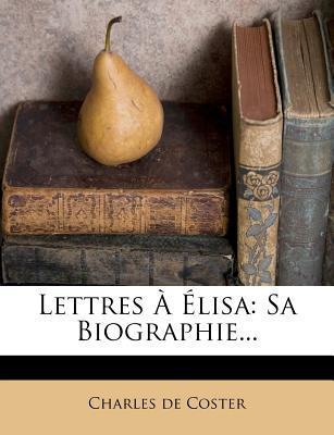 Lettres a Elisa