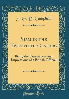 Siam in the Twentieth Century