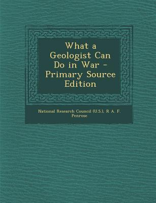 What a Geologist Can Do in War