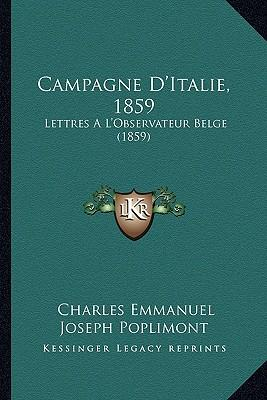 Campagne D'Italie, 1859