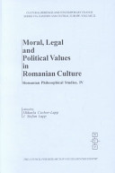 Moral, Legal and Political Values in Romanian Culture
