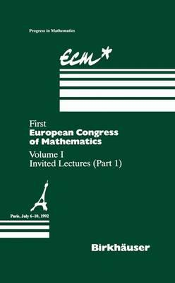 First European Congress of Mathematics Paris, July 6–10, 1992