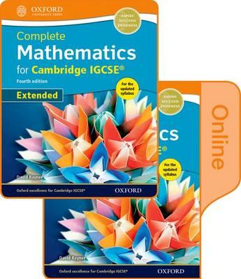 Complete Mathematics for  Cambridge IGCSE Online & Print Student Book Pack (Extended)