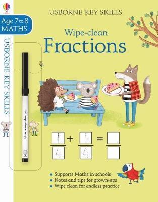 Wipe-Clean Fractions 7-8 (Key Skills)