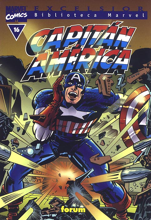 Biblioteca Marvel: Capitán América #16 (de 20)
